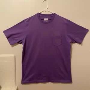 ♦️Vintage SUPREME Purple Tee with Front Pocket♦️